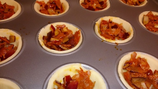 chorizo-red-onion-tarts