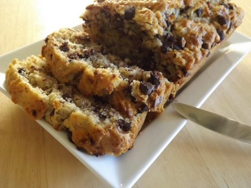 choc-banana-bread