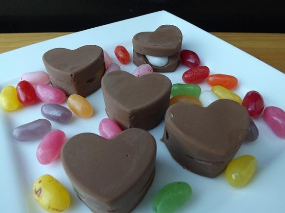 chocolate-jellybeans