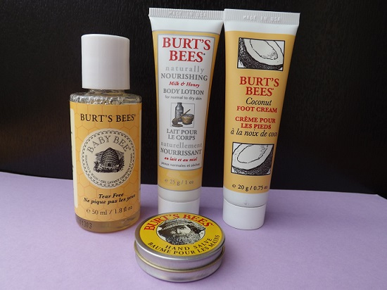 burts-bees-sample-set