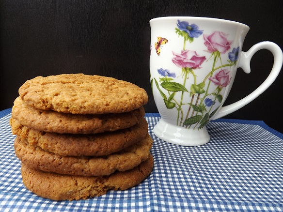 homemade-gingernuts