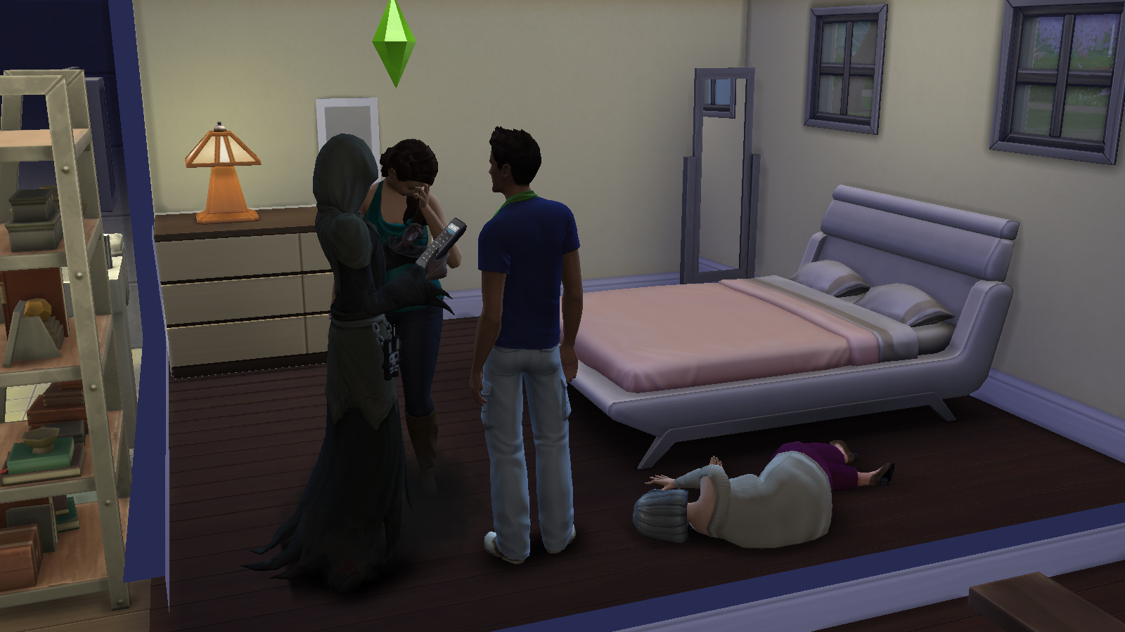 dating death sims 3 A guide to finding love in the sims 3 help your sims get a girlfriend or boyfriend, romantic interest, fiancee, and learn about the options for having a wedding.