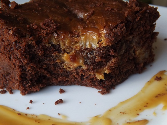 caramel-brownie