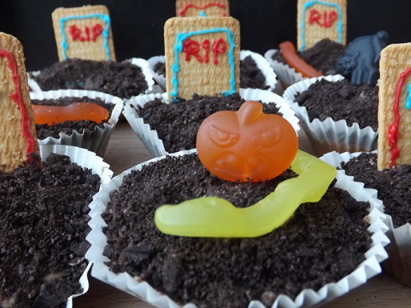 October 2014 blue sky daze for How to make halloween cupcakes from scratch