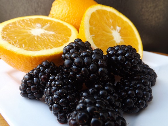 orange-and-blackberry